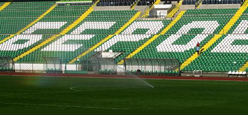 Поливни системи на стадион Берое