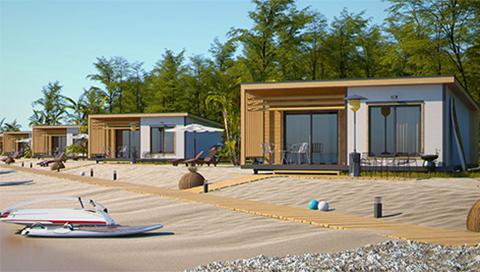 Производство сглобяеми къщи - ТЕС Екострой