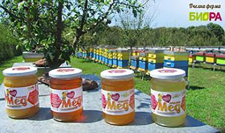 ПЧЕЛНА ФЕРМА БИОРА - висококачествен пчелен мед