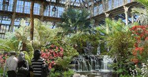 Кралска ботаническа градина Kew Gardens, интериор